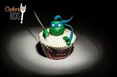 Cupcake Tortuga Ninja