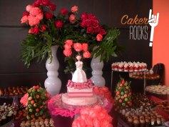 Mesa dulce y tarta Primera Comunión