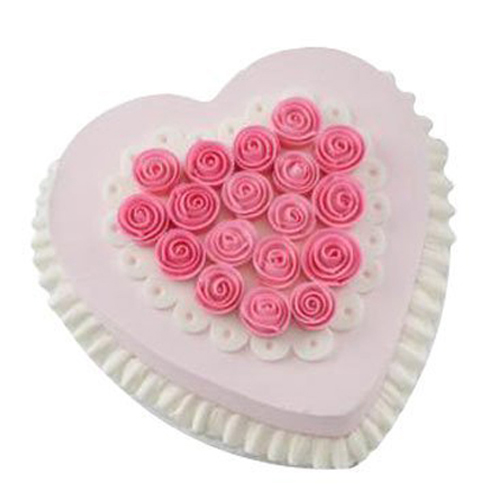HeartCake 8 Chandigarh Cakes Delivery Home Delivery of Cream