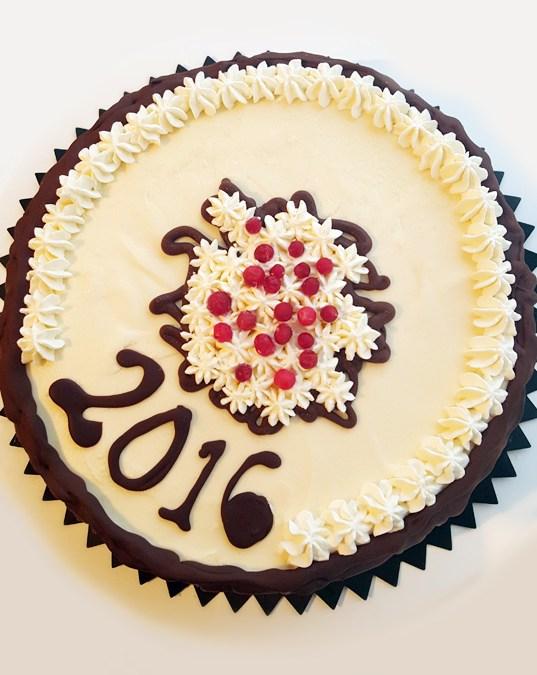 Nyårstårtan 2016