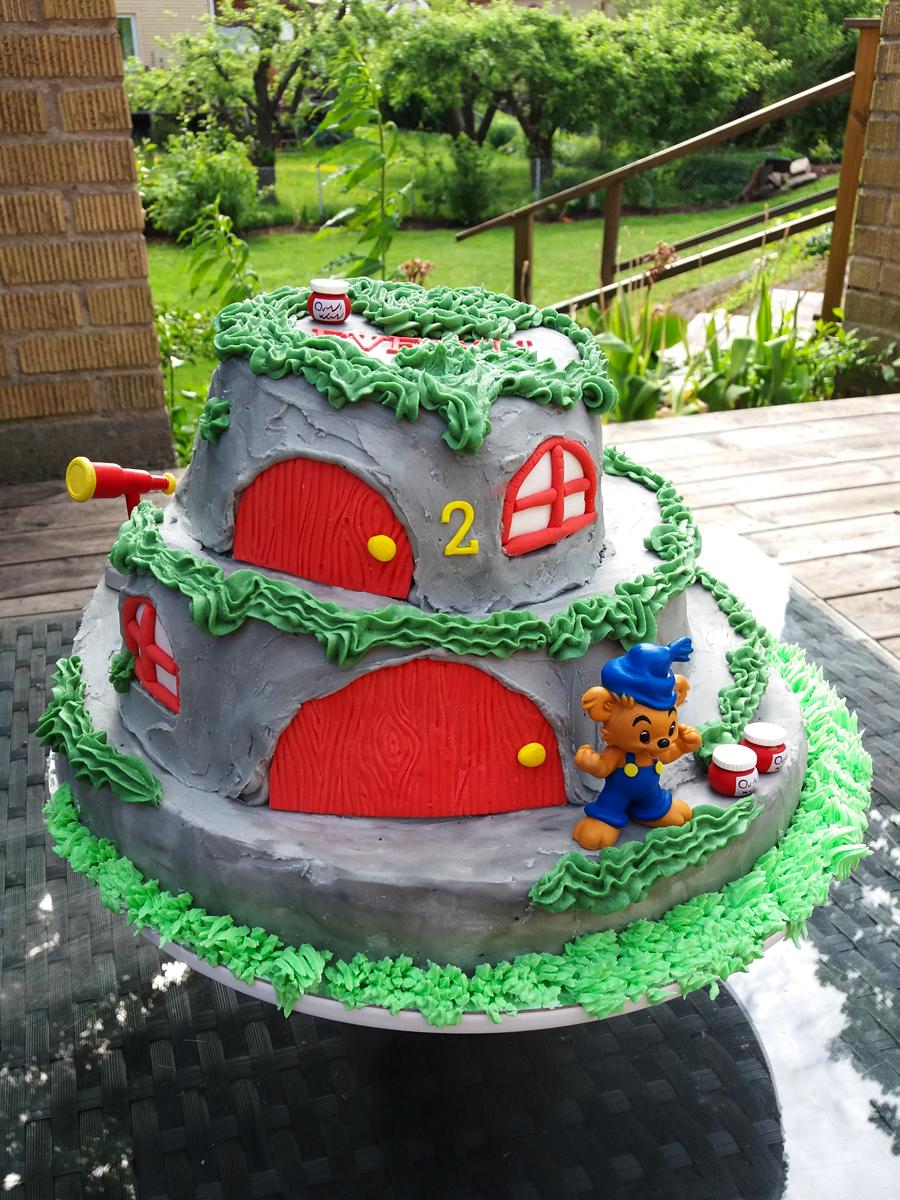 Bamsetårta - bamse cake