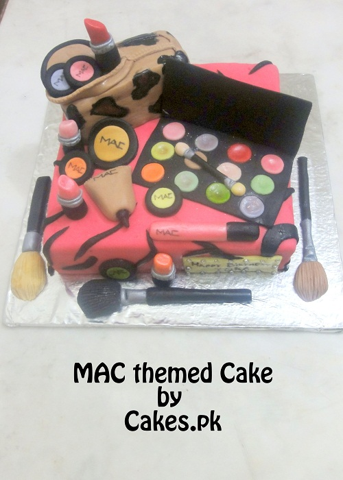 Make-up theme Cake Cakes.pk