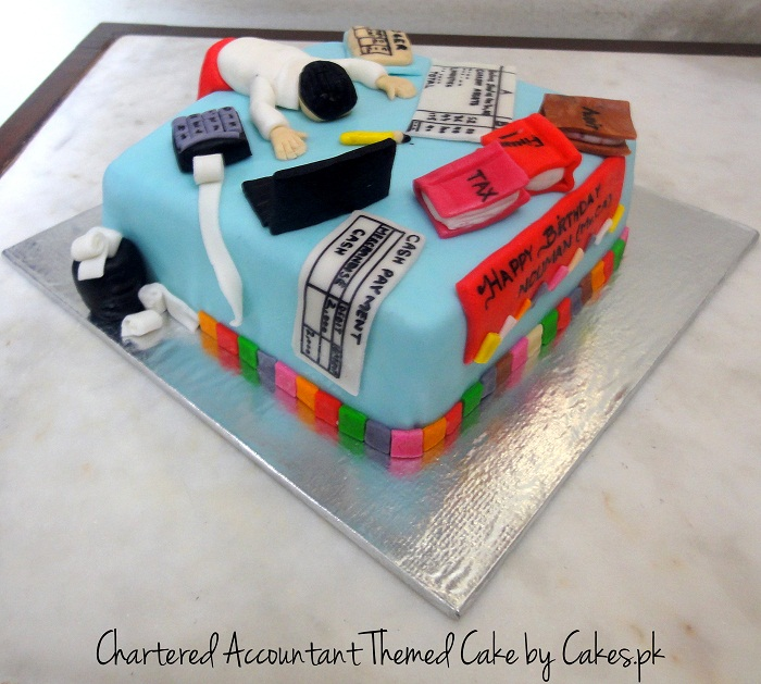 Cake For Chartered Accountant