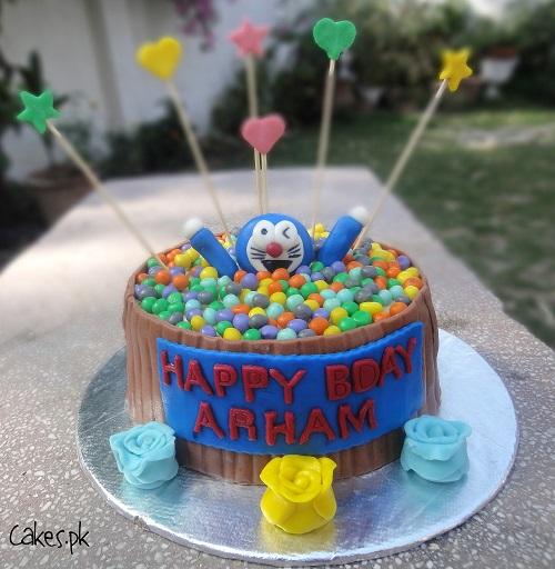 Doraemon Themed Cake Cakespk
