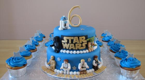 Marvelous 25 Star Wars Themed Birthday Cakes Cakes And Cupcakes Mumbai Funny Birthday Cards Online Overcheapnameinfo