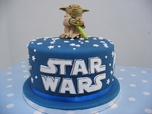 Awe Inspiring 25 Star Wars Themed Birthday Cakes Cakes And Cupcakes Mumbai Birthday Cards Printable Riciscafe Filternl