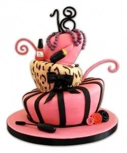 Awe Inspiring 24 Awesome Birthday Cakes For Girls From 18 To 21 Years Cakes Funny Birthday Cards Online Alyptdamsfinfo
