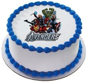 Here Are Some Awesome Avenger Themed Birthday Party Cakes To Show How Much You Love These Heros Be It Ironman Hulk Captain America Thor Black Window Or