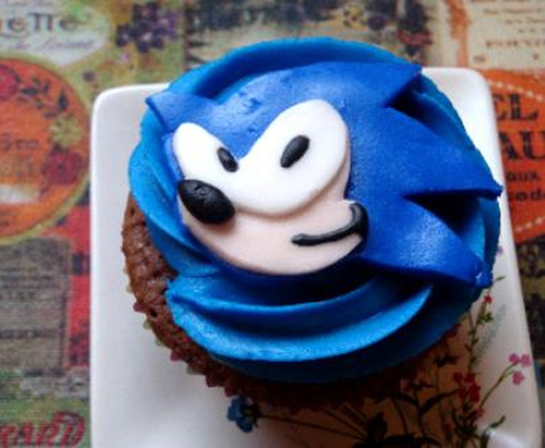 Sonic Hedgehog Video Games Birthday Wedding Cakes Cupcakes Mumbai21 Cakes And Cupcakes Mumbai