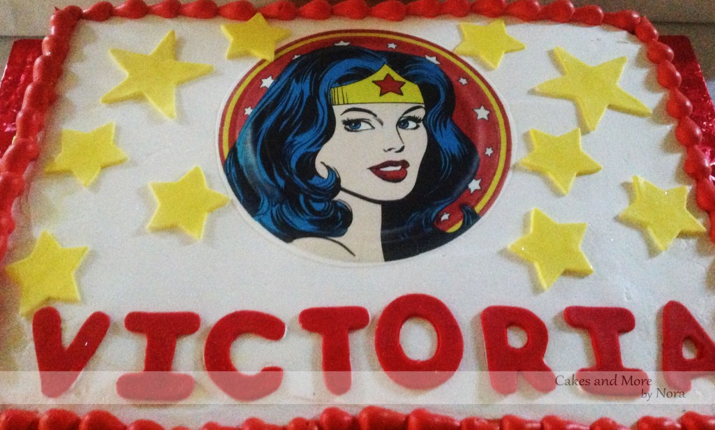 Wonder Woman Birthday Cakes And More By Nora
