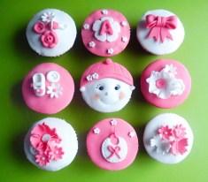 Baby girl cupcakes 1,75/stuk