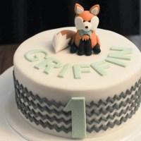 ChevronFox BirthdayCake