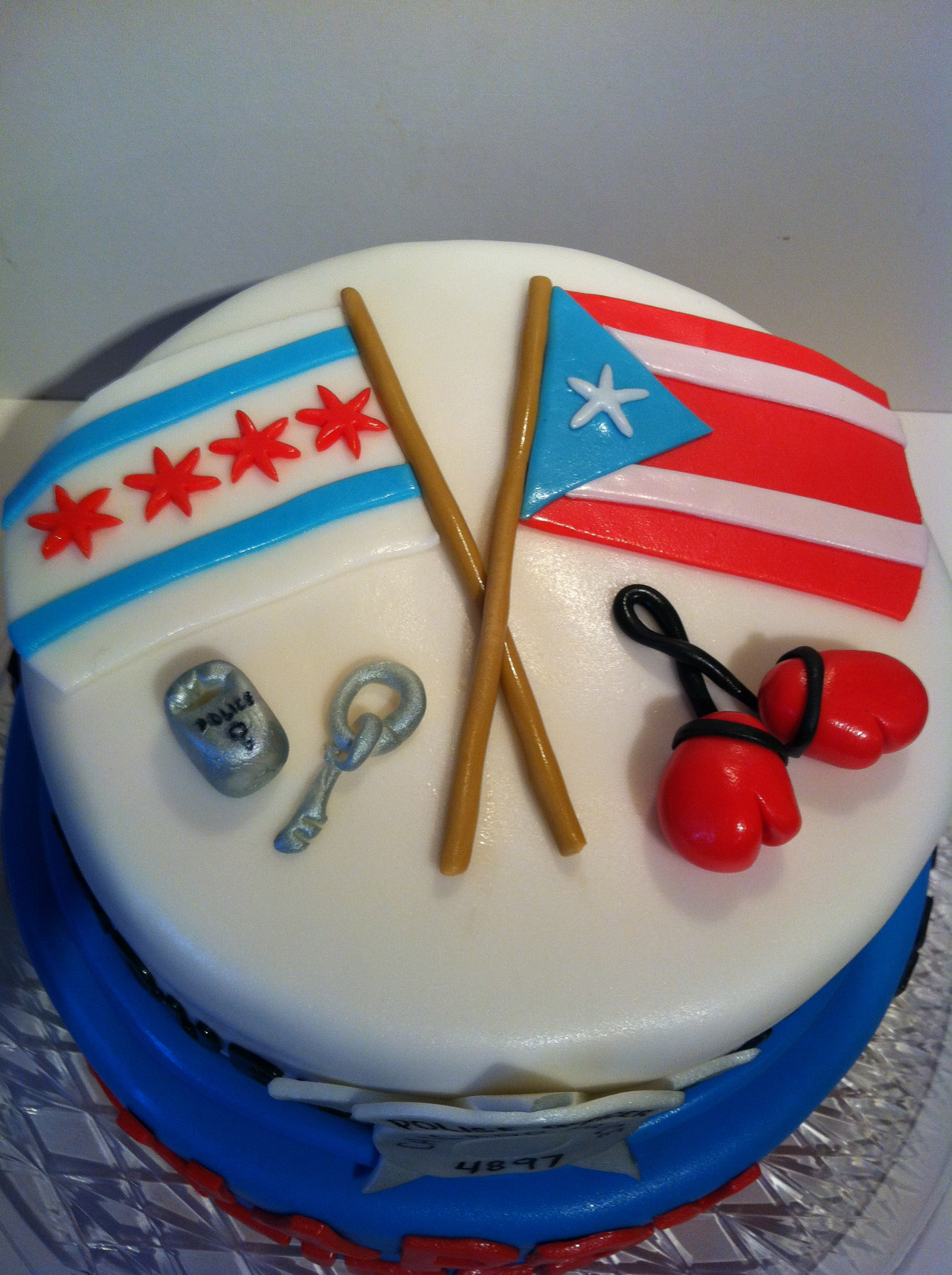 Chicago Police Retirement Cake Cakes By Cathy Chicago