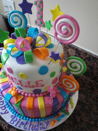 Candyland Cake Cakes By Nathalie
