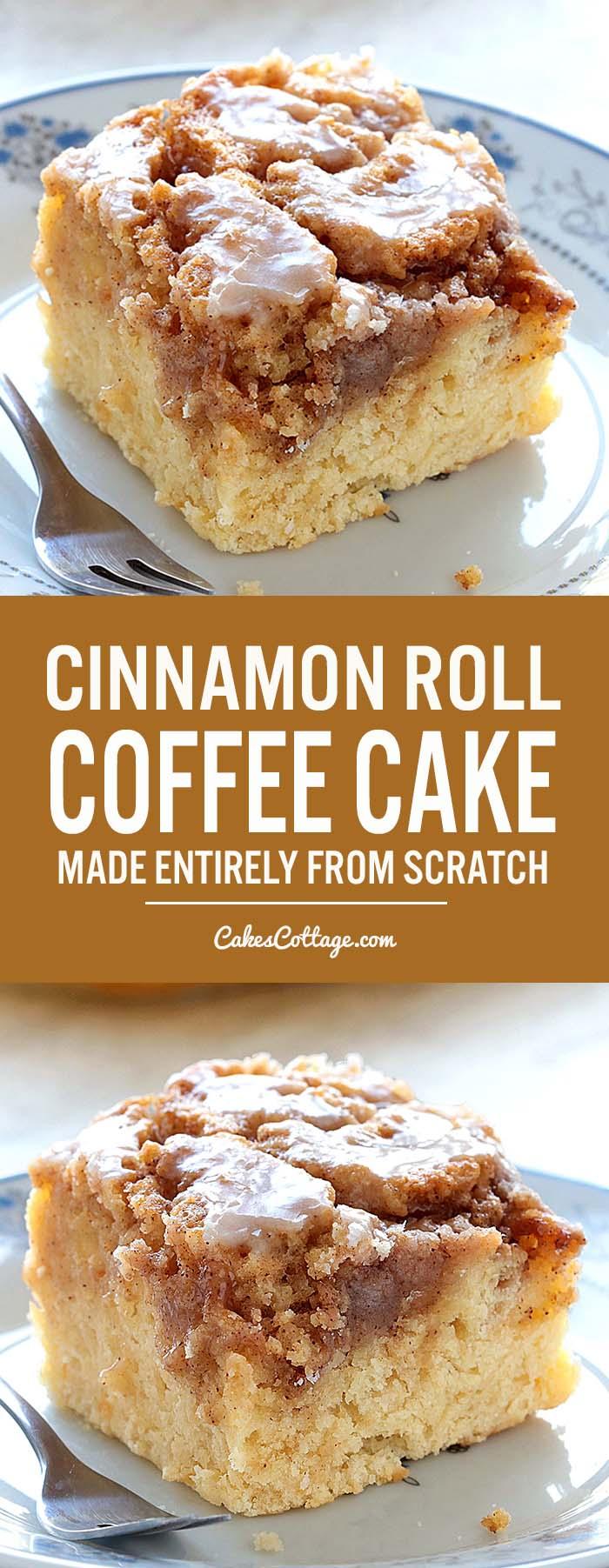 Easy Recipe Cinnamon Cake