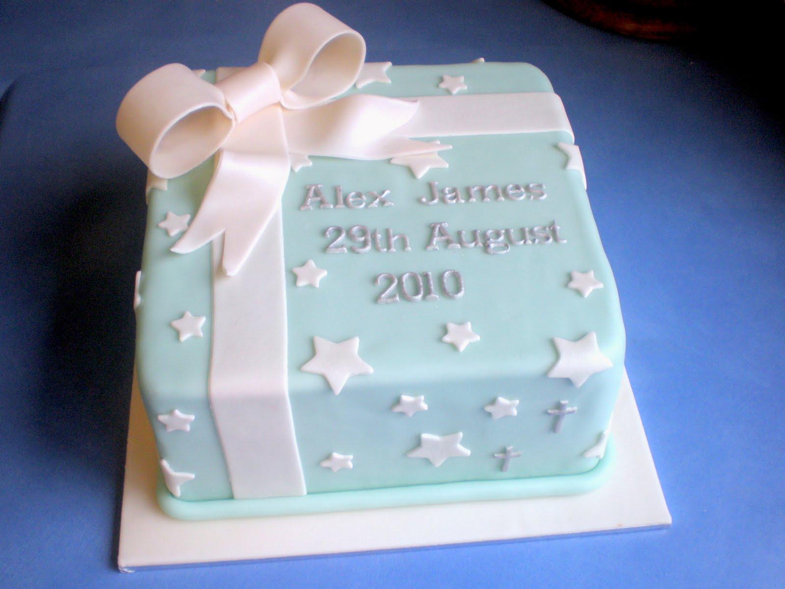 Christening Cake Cakes