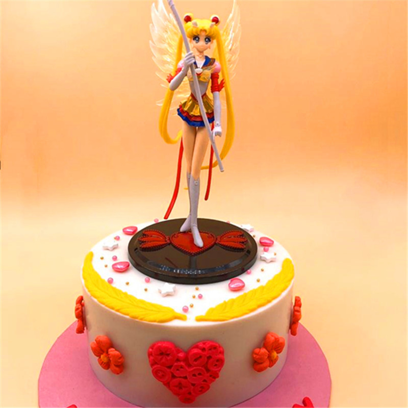 Pleasing Sailor Moon Cake Personalized Birthday Cake For Girls Personalised Birthday Cards Beptaeletsinfo