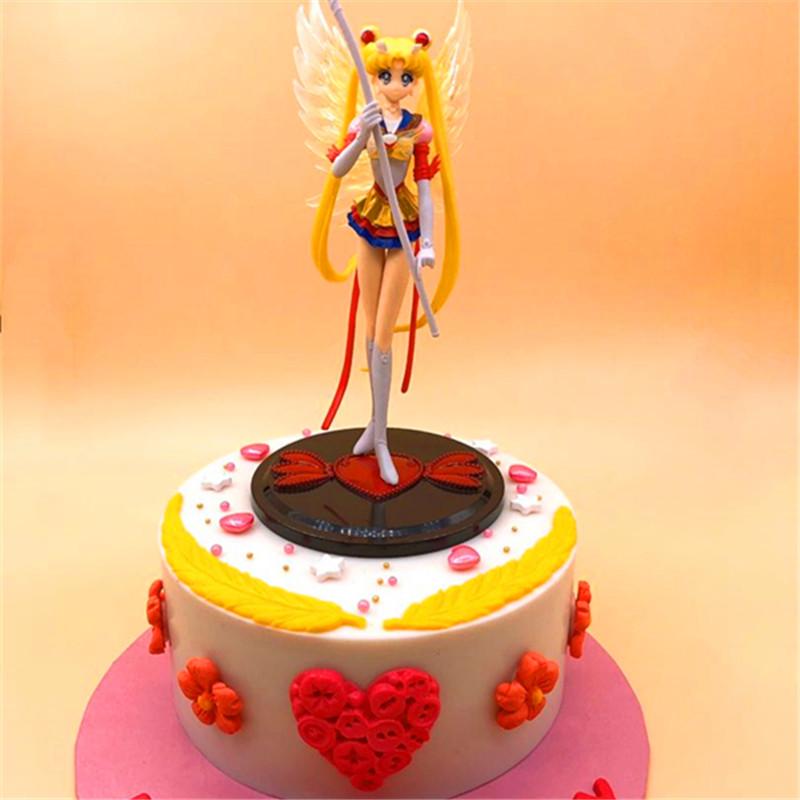 Swell Sailor Moon Cake Personalized Birthday Cake For Girls Personalised Birthday Cards Paralily Jamesorg