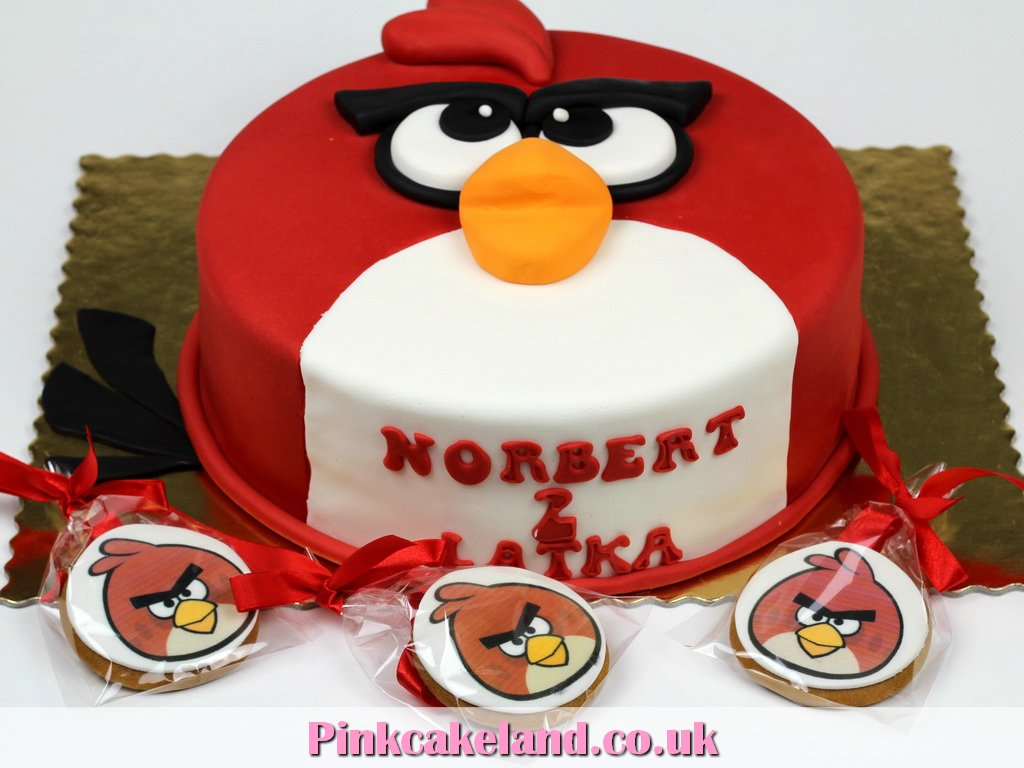 Angry Birds Birthday Cakes In London Cakes London