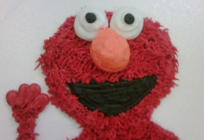 Elmo Cake And Elmo Smash Cake Cakesplosion