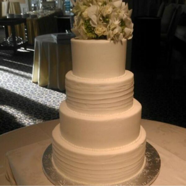 4 Tier Round Cake Stand 12 10 8 And 6 Inch Plates