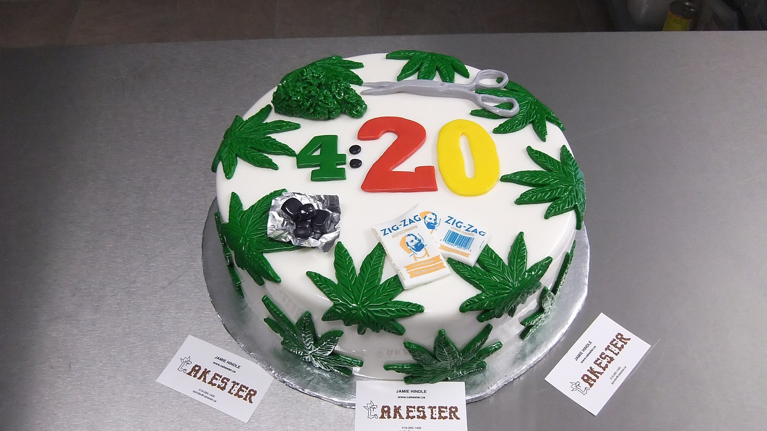 420 Birthday Welcome To Cakester Ca