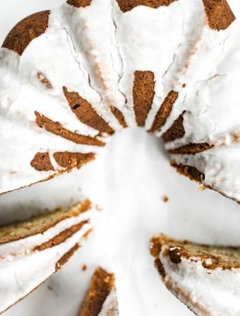 banana cardamom cake