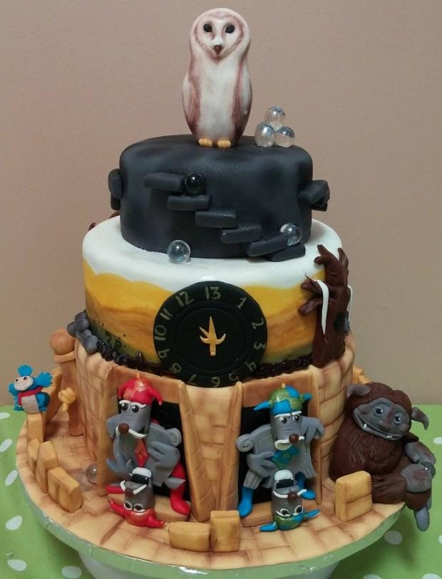Labyrinth Cake The Lovely Baker