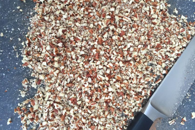 chopped pecans