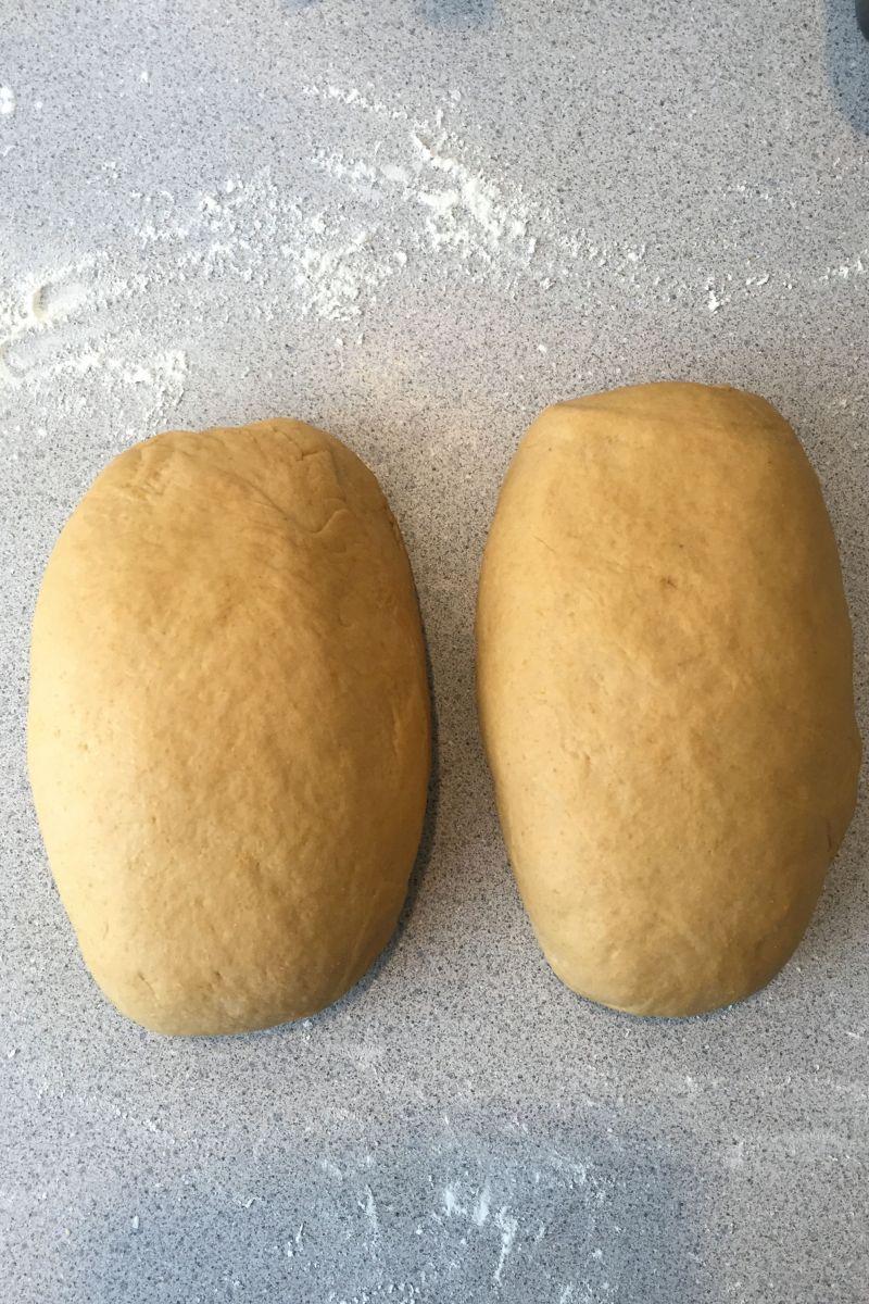 Anadama Bread dough