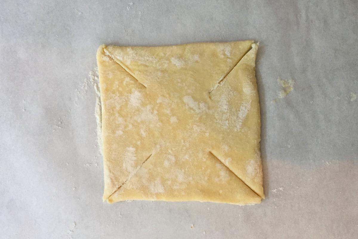 How to make pinwheel pastry