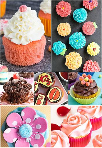 Valentines Day Cupcakes CakeWhiz