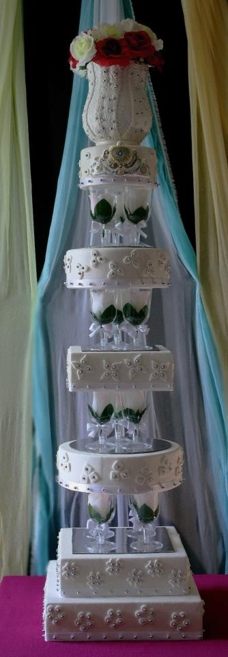 Wedding Cake Tutorial CakeWhiz