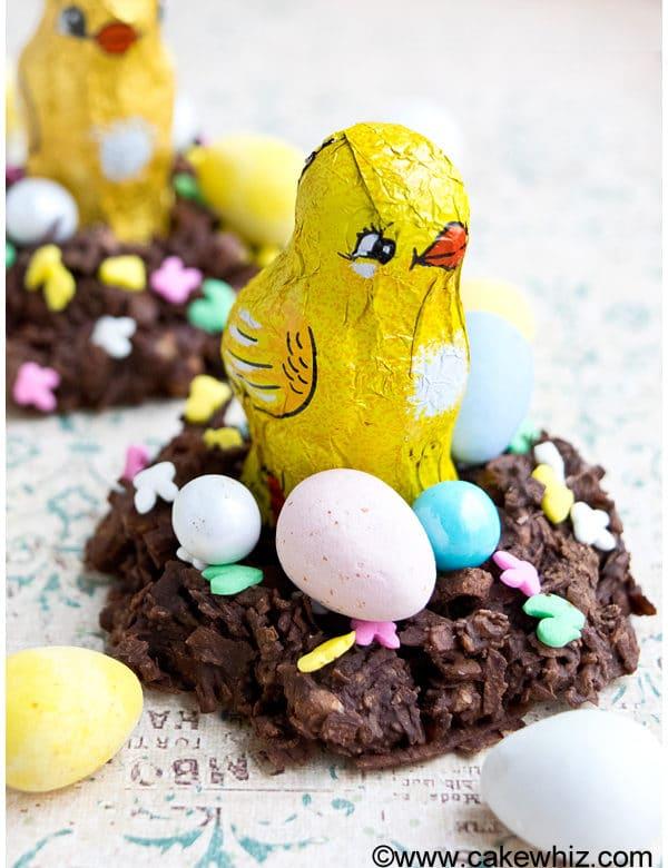 Easter Egg Cakes Shredded Wheat