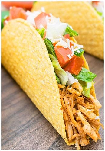 Shredded Chicken Tacos - CakeWhiz