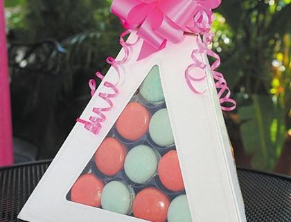 Macaron Pyramid(30 Macarons) $67.50