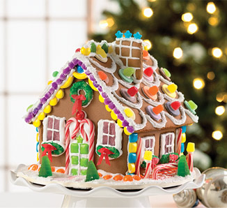 Holly Jolly Beautiful Gingerbread Houses