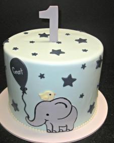 First Birthday Elephant