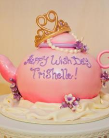 Trishelle's Cake - make a wish