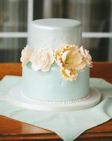 borrowed and blue cake