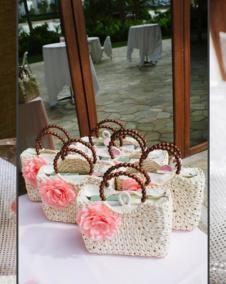 macarons and chocolate boxes