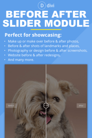 Before After Slider Module | Divi Plugin
