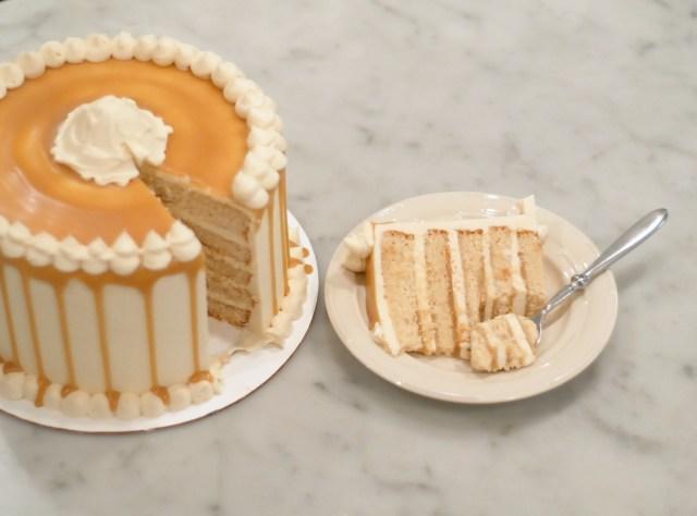 Butterbeer Cake Recipe