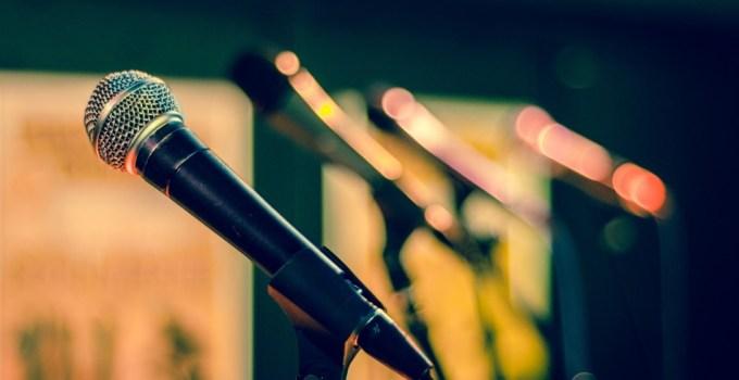 Mikrofon Pidato Bahasa Jawa