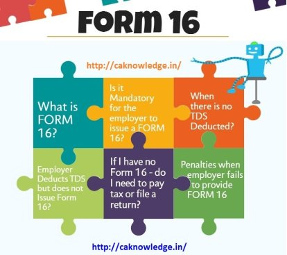 Form 16 CAknowledge.in
