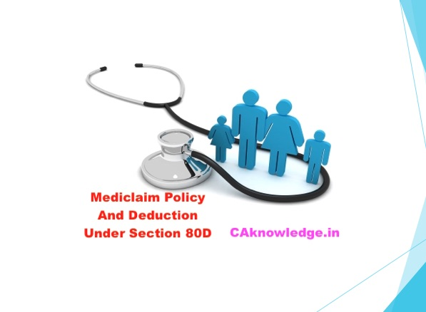Know About Mediclaim Policy & Deduction Under Section 80D