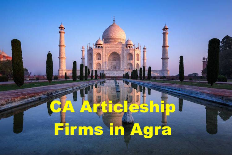 CA Articleship Firms Agra