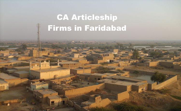 CA Articleship Firms Faridabad