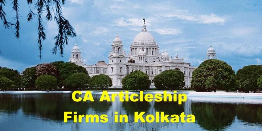 CA Articleship Firms Kolkata