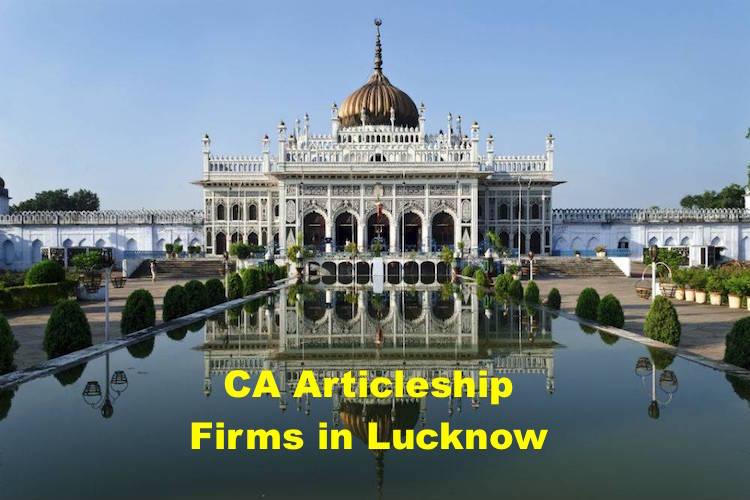CA Articleship Firms Lucknow